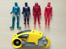 Tron Action Figures & Light Cycle 1981 vintage