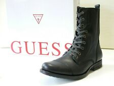 Guess stivali uomo FM4JC4LEA11 Leather Black 100%Pelle grana nero tg.45 €194,95