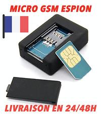 MICRO ESPION GSM GPRS GPS, A DISTANCE DEPUIS VOTRE TÉLÉPHONE, ECOUTE SANS FIL