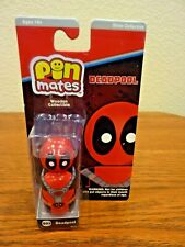 EE Toys Pin Mates Marvel Deadpool S03 Silver Collection Mask Wooden Collectible