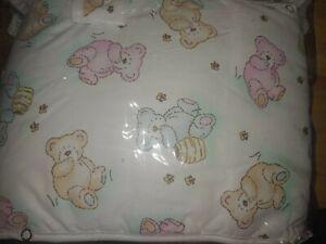 Vintage Carter's Bear Baby sheet protectors/ teething guard, etc. Bees Honey