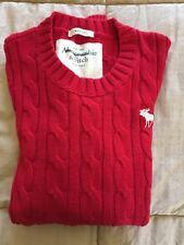 Men's Sweater-ABERCROMBIE & FITCH  Sweater Crew neck