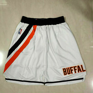 Los Angeles Clippers Retro Men's Hot New White Basketball Shorts Size: S-XXL