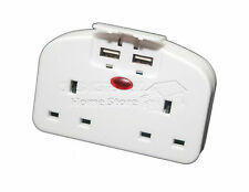 2 VIE 2 GRUPPO 2 Adattatore da viaggio USB CELLULARE TABLET CARICABATTERIE plug in estensione