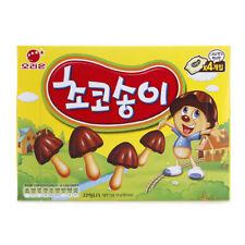 Korean Snacks Chocolate Biscuit Tasha Mushroom CHOCOSONGI - 36g x 4pcs