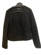 Esprit Black Tweed Jacket - UK14