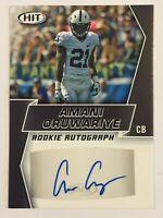 2019 Amani Oruwariye Sage Hit Premier Draft Rookie Autographs Black #A88