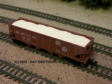Hay Brothers CRUSHED LIMESTONE LOAD - Fits BOWSER 40ft 4-Bay Hopper Cars
