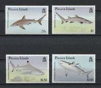 25171) Pitcairn 1992 MNH New Sharks - Sharks 4v