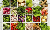 mix 20 variety 10,000++seed Balcony Thai vegetables package seed  hot organic