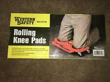 Rolling Wheeled Pads Durable Platform Knee Pad Construction Job Site Work New