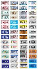 1/24 1/25 scale model car dealer license plates dealership tags 1:25