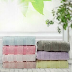 Indian Bamboo Terry Ultra Soft Absorbent Antimicrobial Large Bath Bamboo Towel