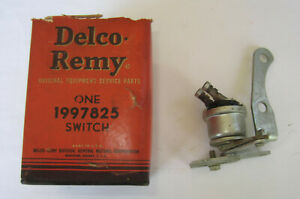 1948-1951 Buick Back-up Light Switch. NOS in the Origianl Box.  OEM #1997825