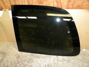 2000 Chevy Venture Factory vent window Left  rear vent window glass