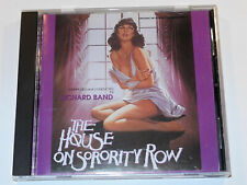 Richard Band THE HOUSE ON SORORITY ROW and THE ALCHEMIST Soundtrack Intrada CD