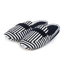 Isotoner Ladies Stripe Moc Sliders