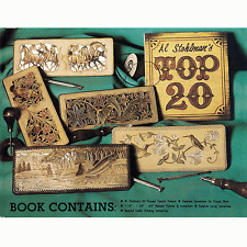 Al Stohlman Top 20 Pattern Book New 66038-00 by Tandy Leather