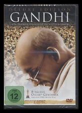 DVD GANDHI - DELUXE EDITION - 2 DISC SET - OSCAR-GEWINNER - BEN KINGLEY * NEU *