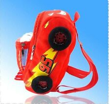 New McQueen Cars  plush cartoon school bag children backpack gift bag