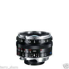 New Carl Zeiss C Biogon T* 35mm F2.8 ZM Wide Angle Lens Black Leica M M9 M8.2