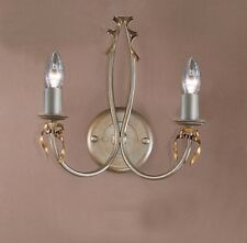 3652 SG-Wall Sconce, Silver Painted, Made In Italy,