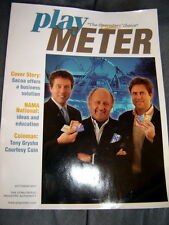 2007 coin-op arcade PLAY METER MAGAZINE~Megatouch;Coney Island;Silver Strike