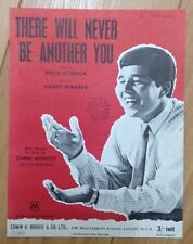 THERE WILL NEVER BE ANOTHER YOU - CHRIS MONTEZ - Original Sheet Music