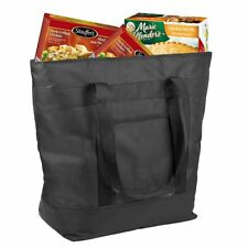X-Large 10 Gallon Capacity Insulated Grocery Bag, Collapsible Outdoor Picnic Bag