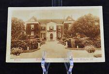 Postcard Doorn Huize Doorn Verblijfplaats Wilhelm II Netherlands BW RPPC