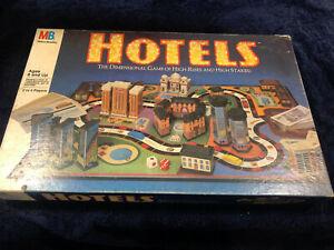 "Milton Bradley's ""Hotels"" 1987 Complete, Used"
