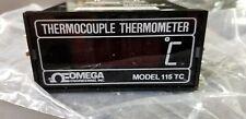 Omega Engineering Model 115 TC, 115TC Thermocouple Thermometer **NEW**