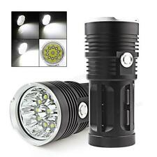 32000LM SKYRAY 12 x CREE XM-L T6 LED Torch 4 x 18650 Hunting Lamp Flashlight