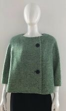 9b3a0e6393b1 Balenciaga Edition Green Sculpted Green Tweed Jacket Blazer - Size 38