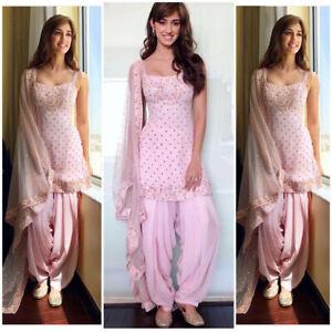 Indian Punjabi Patiyala Salwar Suit Pakistani Designer Salwar Kameez Stitched