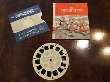 Sawyers View master 1955, The Three Little Pigs B 3071