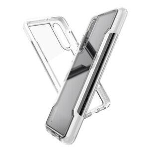 Huawei P30 / Pro / Lite Clear Rear Case Cover X-Doria Defense - Black / White