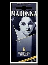 Madonna Nudes 1979 Condoms 6 Pack Box Unopened Rare Like A Virgin Material Girl