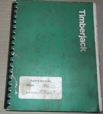 Timberjack 460 Skidder Parts Manual Book Catalog Sn 974174 Up