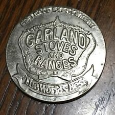 GARLAND STOVES RANGES Food Bread Advertising Metal Vintage Pocket Mirror
