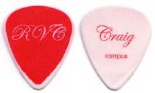 HEART Guitar Pick : 2010 Red Velvet Car Tour Craig signature red