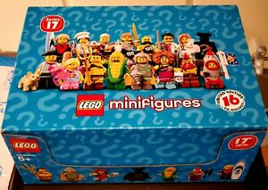 LEGO SEALED Minifigures Series 17 COMPLETE Unopened Box New. 60 mystery bags