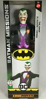 DC BATMAN MISSIONS TRUE MOVE THE JOKER 12 INCH POSABLE ACTION FIGURE ARTICULATED