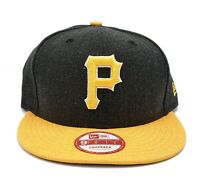 Pittsburgh Pirates New Era 9Fifty Heather Action Field Snapback Hat Cap MLB
