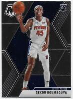 2019-20 Panini Mosaic #243 Sekou Doumbouya RC - Detroit Pistons