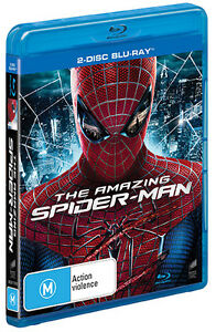 The Amazing Spider-Man (2 Disc Blu-ray, 2014) *New & Sealed*