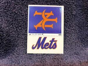VINTAGE 1979 New York Mets Fleer Team Logo Sticker Card, NMMT!!