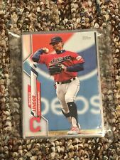 2020 Topps Baseball CLEVELAND INDIANS Series 1 & 2 Team Set! 24 Total Cards!