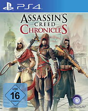 PlayStation 4 Spiel Assassin's Creed: Chronicles Trilogie (Sony Ps4,2016) Spiel