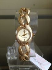 newstuffdaily: NIB JLO Jennifer Lopez Textured Gold Tone Ladies Watch